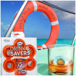 Drink Savers Life Preserver Ice Cube Tray