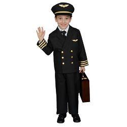 Boy's Pilot Costume