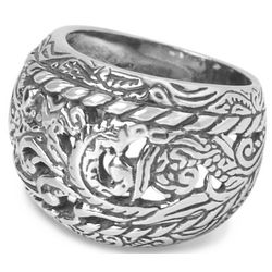 Sterling Silver Rodeo Ring