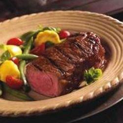 4 New York Strip Steaks