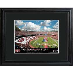 San Francisco 49ers Personalized Stadium Print