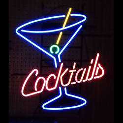 Cocktail Neon Bar Sign