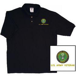 US Army Veteran Polo Shirt
