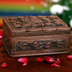 Forever Wood Jewelry Box