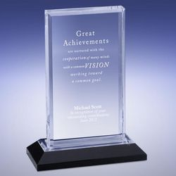 Personalized Silver Reflection Award