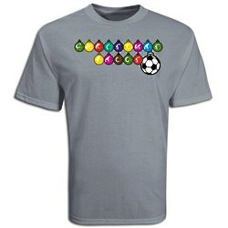 Youth's Christmas Soccer Balls T-Shirt