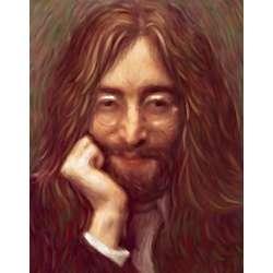 John Lennon Oil Painting Fine Art Print