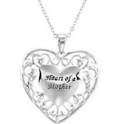 Heart of a Mother Necklace