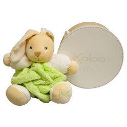 Plume Medium Mint Stuffed Rabbit