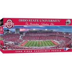 Ohio State Buckeyes Panoramic Stadium 1,000-Piece Jigsaw Puzzle
