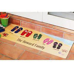 Flip Flops Summer Door Runner