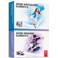 Adobe Photoshop & Premiere Elements 8 Software