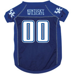 Kentucky Wildcats Premium Pet Football Jersey
