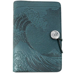 Hokusai Wave Handmade Leather Journal