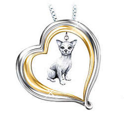 Loyal Companion Dog Lover Chihuahua Pendant