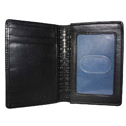 Collins Calf Leather Rock Solid Deluxe Card Case