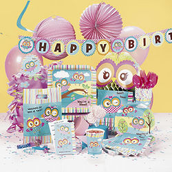 You're A Hoot Ultimate Birthday Party Pack