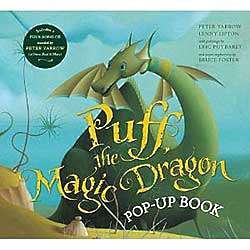 Puff the Magic Dragon Pop-Up Book and CD