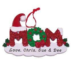 Personalized Mom Ornament