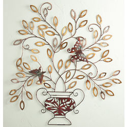 Monarch Centerpiece Metal Wall Decor