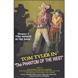The Phantom of the West Personalized Movie Poster Print