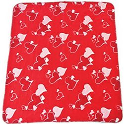 Valentine's Fleece Throw Blanket