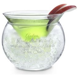 Thriller Chiller Martini Glass