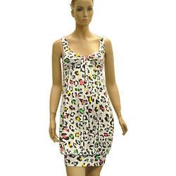 Animal Print Viscose Dress