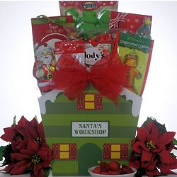 Santa! Children's Christmas Gift Basket
