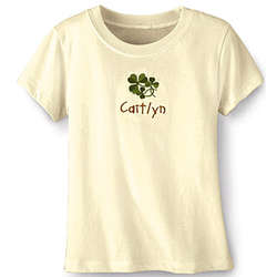 Toddler's Organic Cotton Personalized T-Shirt