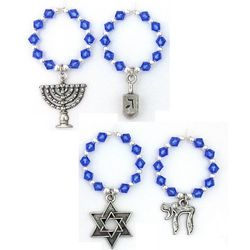 Hanukkah Wine Charms