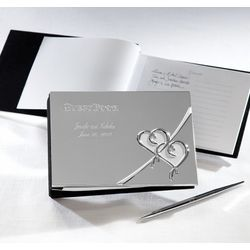 Lenox True Love Wedding Guest Book and Pen Set