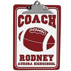 Personalized Coach Clipboard