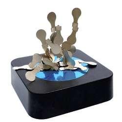 Light Bulb Magnetic Sculpture