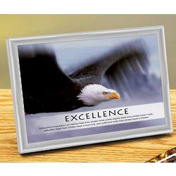 Excellence Eagle Framed Print