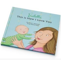 I Love You Personalized Children's Book