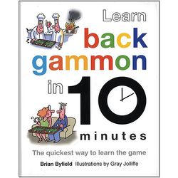 Learn Backgammon in 10 Minutes Hardcover Book