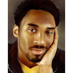 Kobe Bryant Pop Art Print