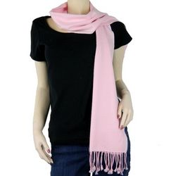 Pure Pashmina Light Pink Scarf