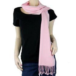 Pure Pashmina Light Pink Scarf