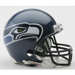 Seattle Seahawks Replica Riddell Mini Helmet