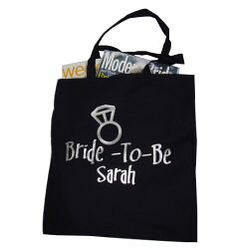 Bride-To-Be Personalized Bag