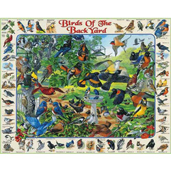 Birds of the Backyard Jigsaw Puzzle