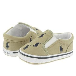 Ralph Lauren Layette Kids Bal Harbour Repeat Slip-On Shoes