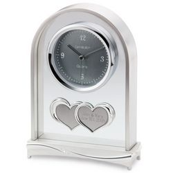 Double Heart Clock