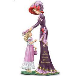 Thomas Kinkade You Are My Crowning Glory, Granddaughter Figurine