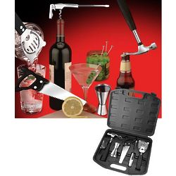 Tool Guy's Barware Set