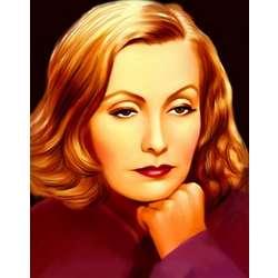 Greta Garbo Pop Art Print