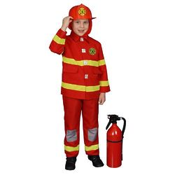 Toddler Boy's Firefighter Costume