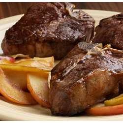 Center Cut Lamb Loin Chops Package